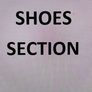 SHOES SECTION